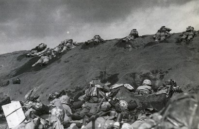 Tough going as Marines land on Iwo